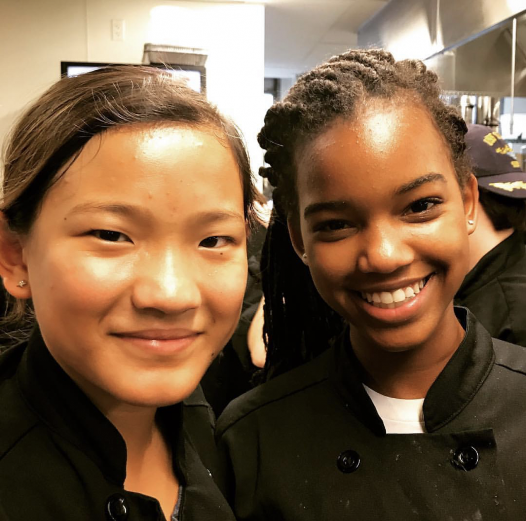 New teen cooking friends!